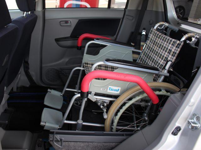 ワゴンR 後部車椅子乗降車